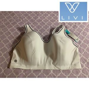 Livi by Lane Bryant •High Impact Sports Bra • 42DD